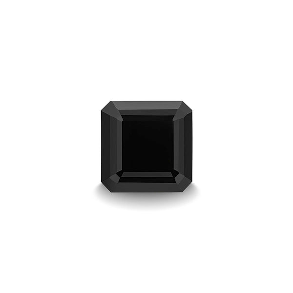 BLACK SPINEL 1CT ASSCHER CUT