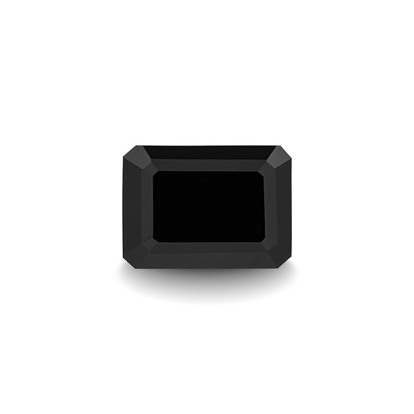 BLACK SPINEL 1CT EMERALD CUT