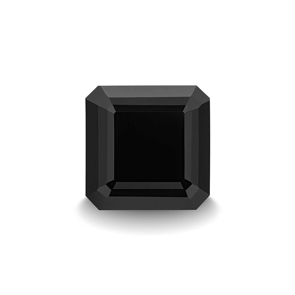 BLACK SPINEL 3CT ASSCHER CUT