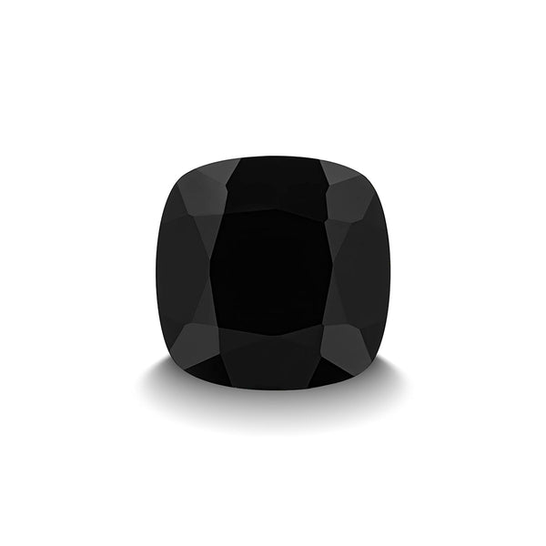 BLACK SPINEL 3CT CUSHION CUT
