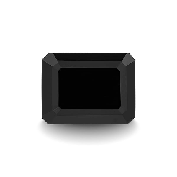 BLACK SPINEL 3CT EMERALD CUT