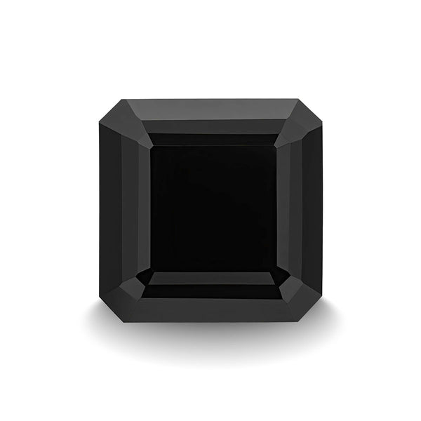 BLACK SPINEL 5CT ASSCHER CUT