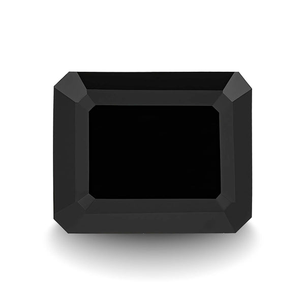 BLACK SPINEL 5CT EMERALD CUT