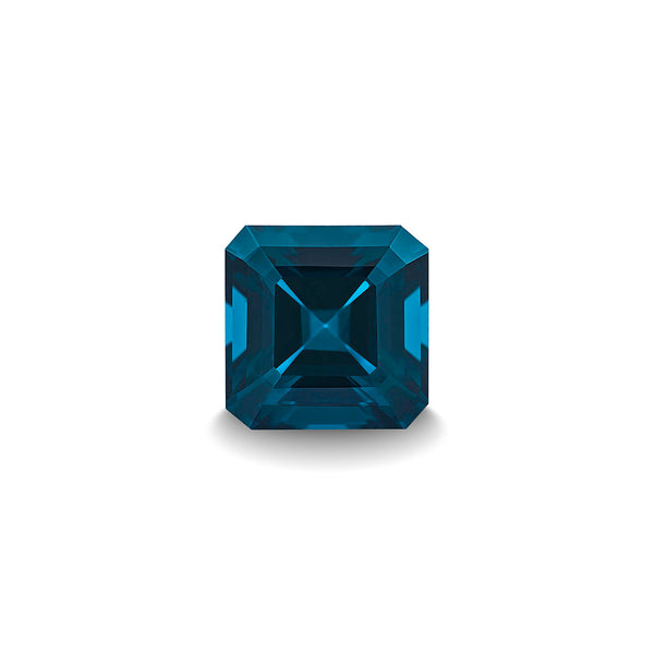 BLUE LONDON TOPAZ 1CT ASSCHER CUT