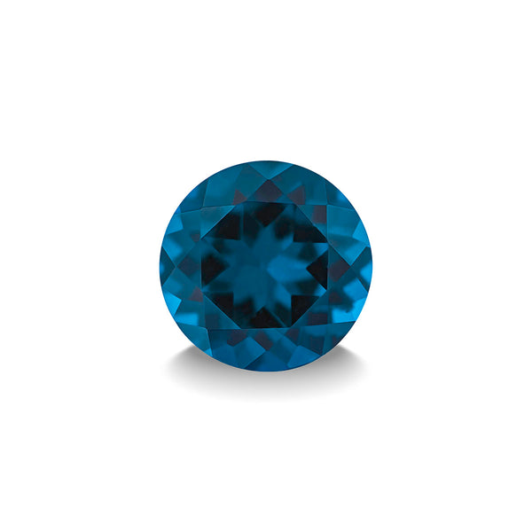 BLUE LONDON TOPAZ 1CT DIAMOND CUT