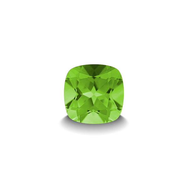 PERIDOT 1CT CUSHION CUT