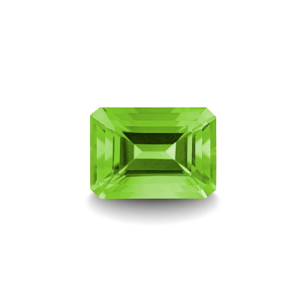 PERIDOT 1CT EMERALD CUT