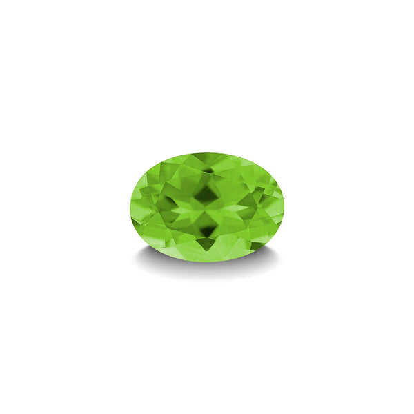 PERIDOT 1CT OVAL CUT