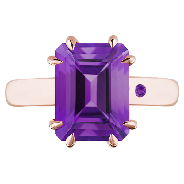 AMETHYST 3CT EMERALD CUT - Customer's Product with price 165.00 ID rkODS1reIbYa-xFDx3eVbANk