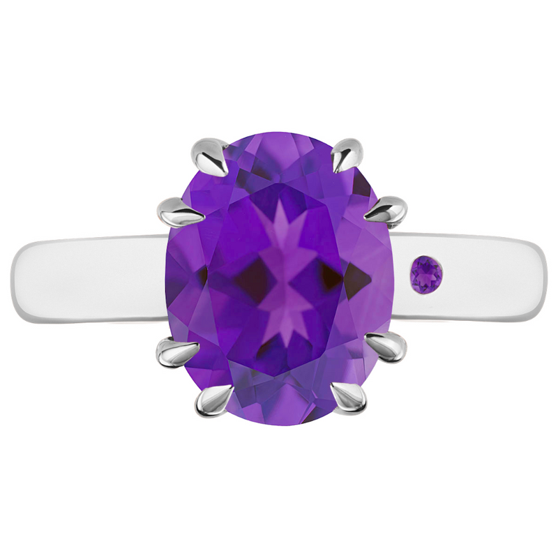 AMETHYST 3CT OVAL CUT - Customer's Product with price 165.00 ID 4II67Xk5nVcw92PgxWbh1QFw