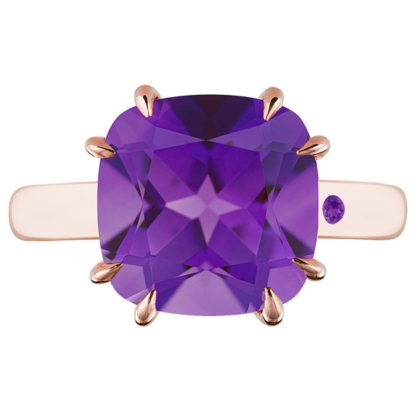 AMETHYST 5CT CUSHION CUT - Customer's Product with price 620.00 ID u4CR_GdpAC61emRQOvKlz-tQ