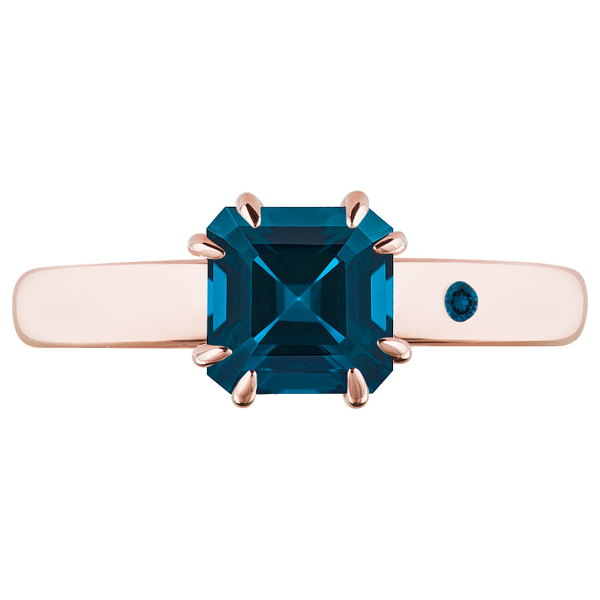 BLUE LONDON TOPAZ 1CT ASSCHER CUT - Customer's Product with price 115.00 ID Ai_Nycb8LSPD4XzJg7tLmU5a
