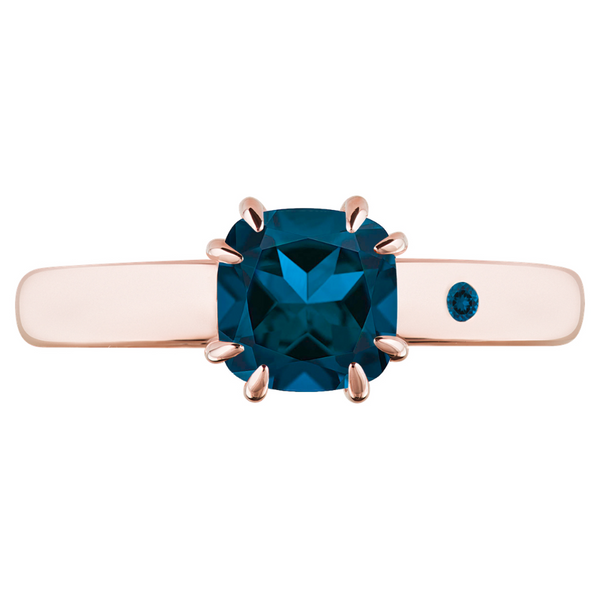 BLUE LONDON TOPAZ 1CT DIAMOND CUT - Customer's Product with price 115.00 ID f-8BJ34UTh3qyQXdxNARUsCC
