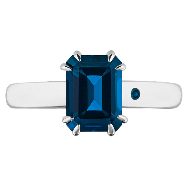 BLUE LONDON TOPAZ 1CT EMERALD CUT - Customer's Product with price 115.00 ID AB00l-Cs5pjwqmiPwW-GC7j8