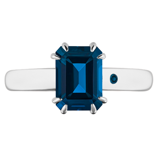 BLUE LONDON TOPAZ 1CT EMERALD CUT - Customer's Product with price 115.00 ID G-LkAanSMNrOku2d3NDK5CKp