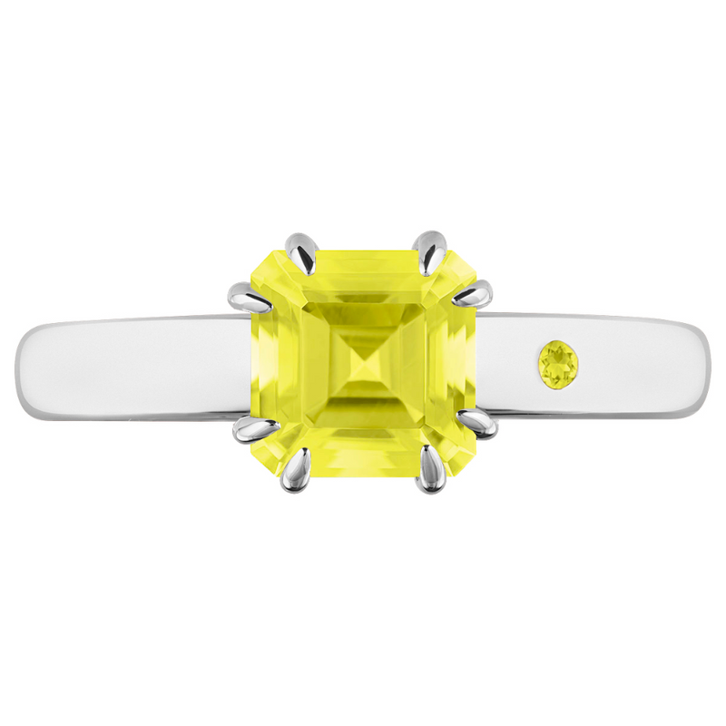 LEMON QUARTZ 1CT ASSCHER CUT - Customer's Product with price 115.00 ID ORocjCLS-uxsuwpQcpB8FUF3