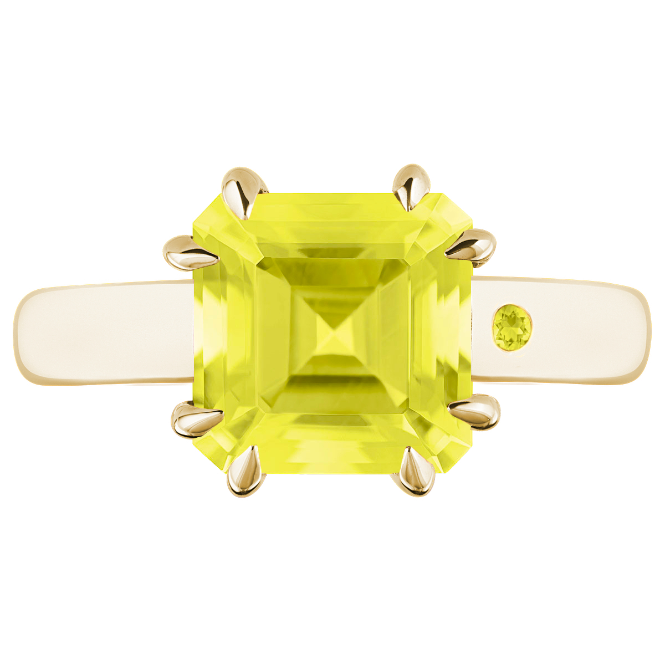 LEMON QUARTZ 3CT ASSCHER CUT - Customer's Product with price 165.00 ID qipuR-Ka4JW30dXdKuJRUx33