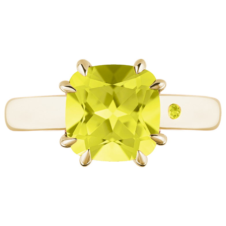 LEMON QUARTZ 3CT CUSHION CUT - Customer's Product with price 165.00 ID rii5SoThw8illI301uUcaMEx