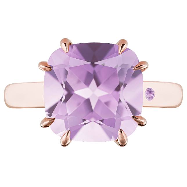 ROSE DE FRANCE 5CT CUSHION CUT - Customer's Product with price 620.00 ID 8Ae6SkRR0Whv7lsumK7l-b6Q