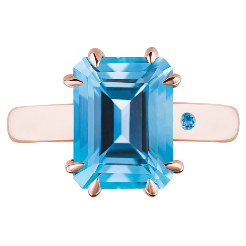 SWISS BLUE TOPAZ 3CT EMERALD CUT - Customer's Product with price 450.00 ID Ly8I1GE4wpqVpOys2hlwdbuK