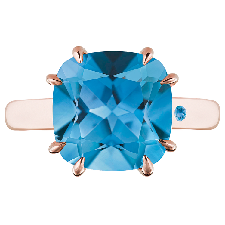 SWISS BLUE TOPAZ 5CT CUSHION CUT - Customer's Product with price 265.00 ID VUnsK85ZHgY3t0tbjLKC50kL