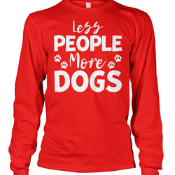 Less People More Dogs
