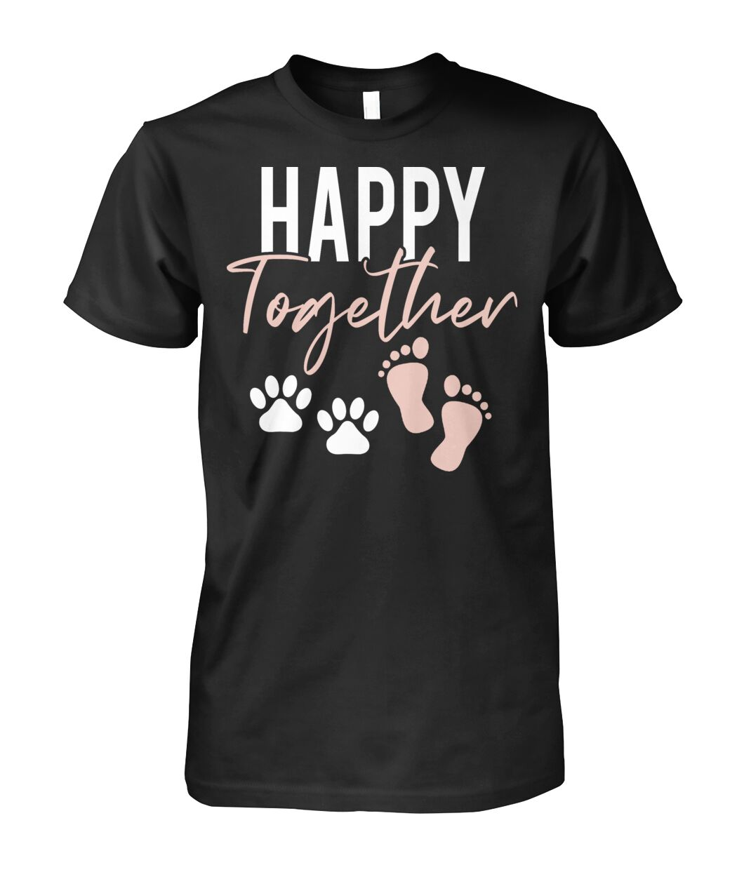 Happy Together - Paw & Foot Print