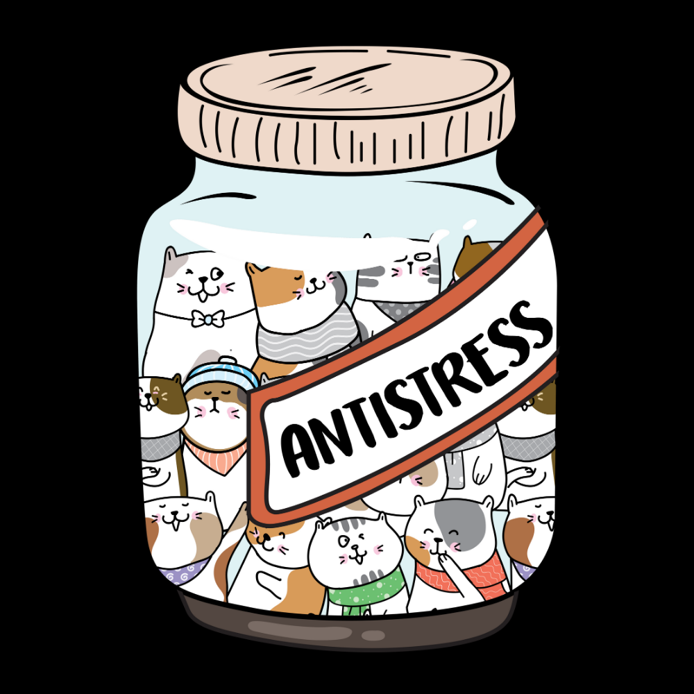 Antistress Cat Jar