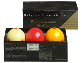 Super Aramith Pro-Cup Carom Ball Set