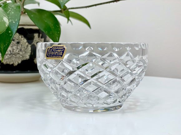 Violetta (Poland) crystal bowl
