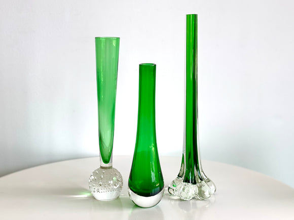 Stunning emerald green vases [sold separately]