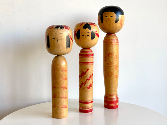 Kokeshi - traditional style vintage Japanese dolls [sold separately]