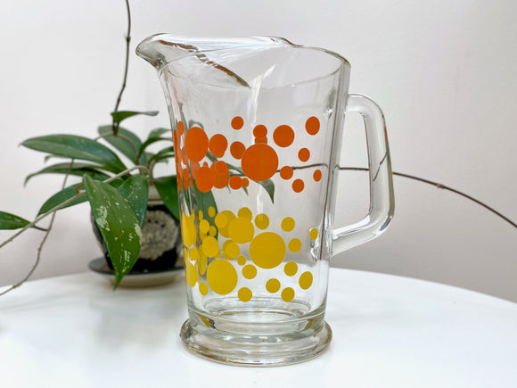 Retro-fabulous juice pitcher
