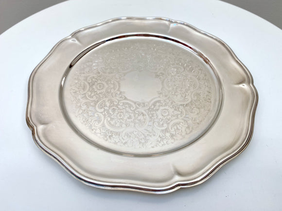 Strachan (Australia) vintage silver-plated drinks tray - stunning!
