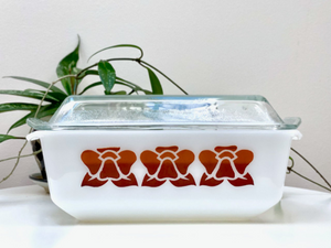 AGEE / CROWN PYREX 'Water Lily' 2.75 L Chicken Casserole