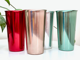Vintage anodised cups (x8) - made in Italy