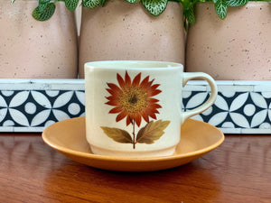 Johnson of Australia 'Tonga' teacup/saucer set