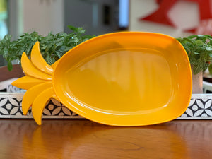 Décor (Australia) plastic pineapple-shaped serving bowls - three available