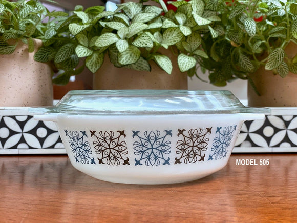 JAJ PYREX 'Chelsea' round casseroles - #505, #509 and #513 - sold separately