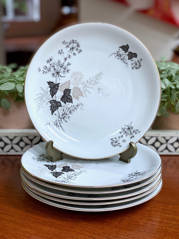 KPM Krister (Germany) dinner plates (x6)