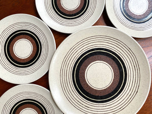 Mikasa (Japan) 'Tribal Ring' from their Indian Feast range; plate set