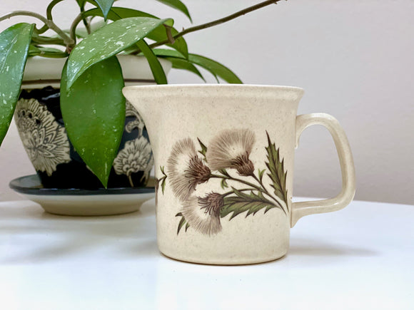 Johnson of Australia 'Thistle' milk jug / creamer