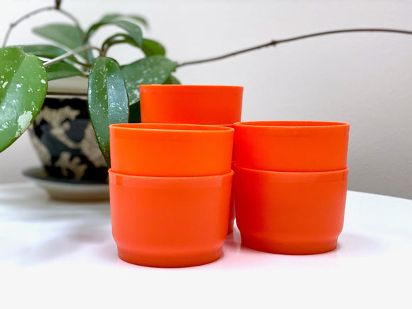 Tupperware (Australia) mini cups (x7)
