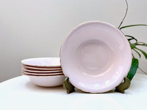 Tuscan Bone China (England) soup bowls (x6)
