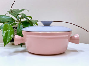 DIANA POTTERY (Australia) round casserole, with lid