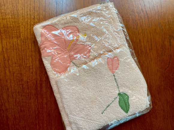 Dri-Glo (Australia) vintage cotton bath linen - hand towel and face washer
