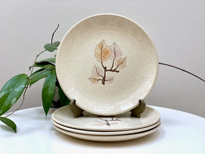 Johnson of Australia 'Beechleaf' entree plates (x4)