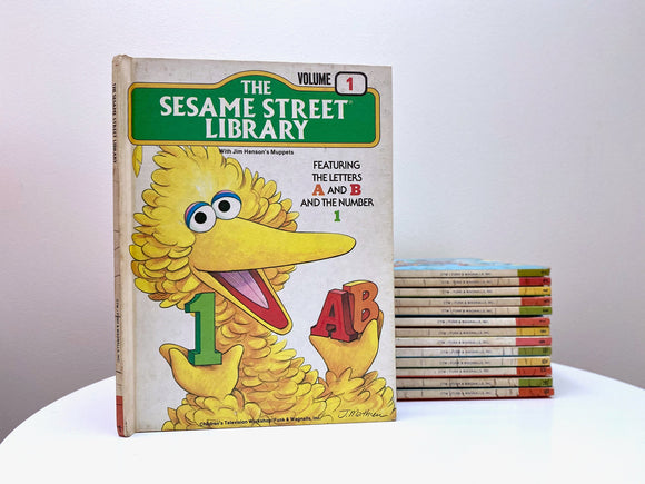 Vintage 'The Sesame Street Library' books (1978)