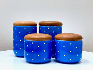Waechtersbach (West Germany) *rare find* canister set (x4)