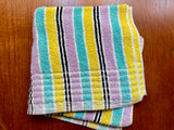 Vintage cotton bath towel, made by Tara Australia